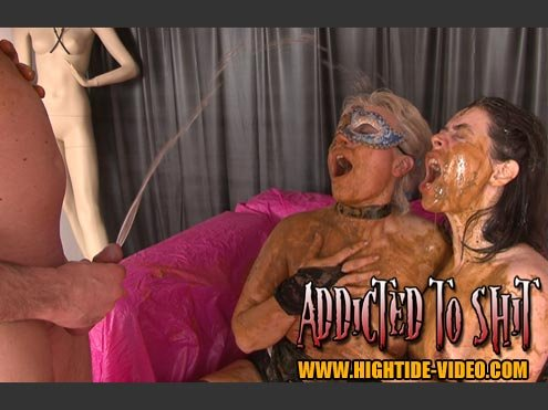 ADDICTED TO SHIT [SD]  2018 (Actress: Models: Gina, Ingrid, 1 Male)