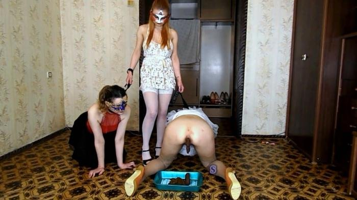 Alice has two slaves on a leash [FullHD 1080p]  2019 (Actress: ModelNatalya94)
