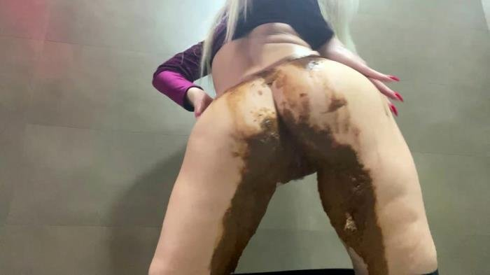 Shiny Leggings Poop [FullHD 1080p]  2020 (Actress: Thefartbabes)