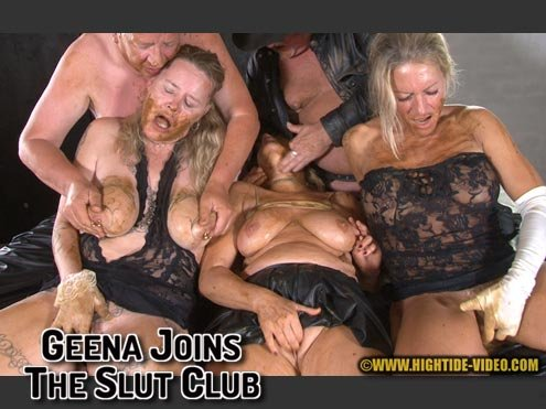 GEENA JOINS THE SLUT CLUB [HD 720p]  2020 (Actress: Geena, Molly, Sexy, 2 males)