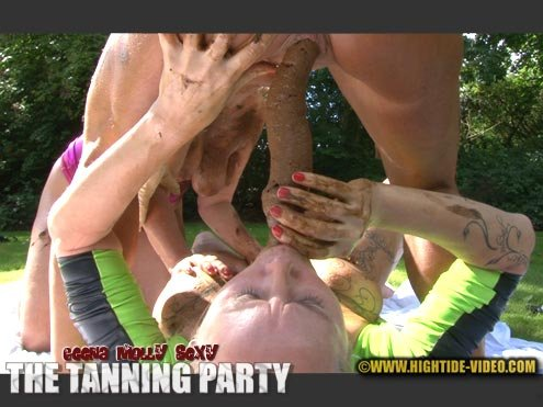 THE TANNING PARTY [HD 720p]  2020 (Actress: Geena, Molly, Sexy)
